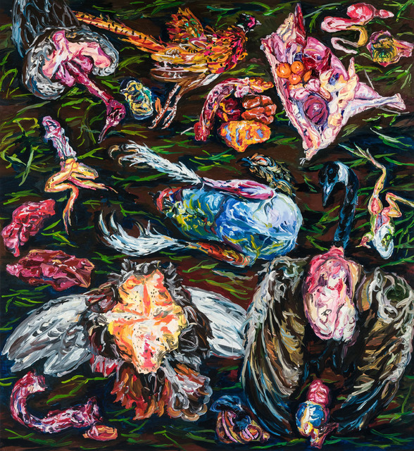 , 'Untitled (Butcher's Jewels series),' 2015, Art+Text Budapest