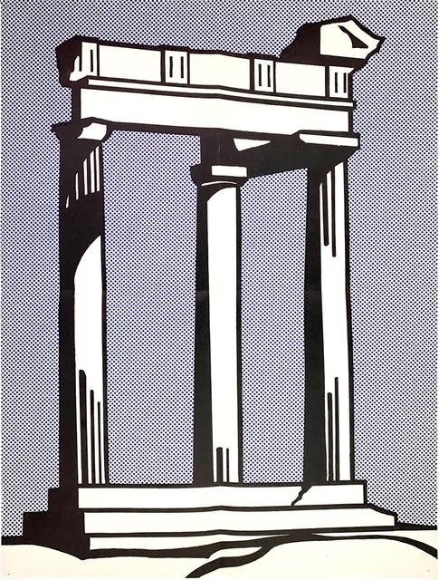 Roy Lichtenstein, 'Roy Lichtenstein Temple (Castelli mailer) 1964', 1964, Lot 180