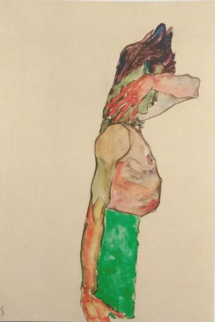 , 'Mädchen mit grünem Rock,' 1990, Wallector