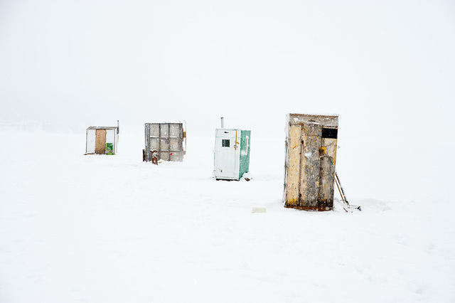 , 'Fishing Hut #4, Gaspé,' , The Print Atelier