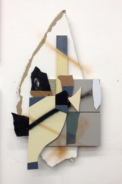 , 'Splitterrelief #3,' 2013, Gestalten