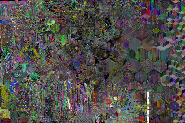 , 'atomic_kill_threads,' 2013, Winkleman Gallery