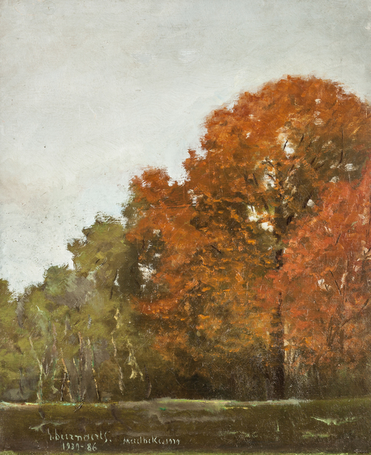 , 'Autumn Landscape,' ca. 1950, Susan Calloway Fine Arts
