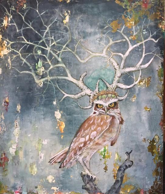 , 'Owl Queen,' , Diehl Gallery