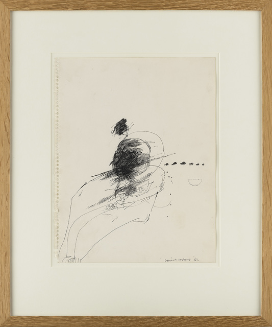 David Hockney, 'Man with crawling Ants', 1961, Waddington Custot