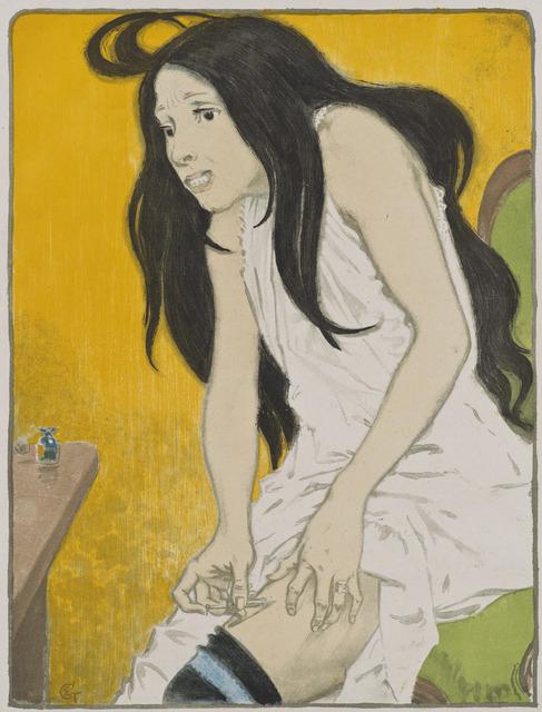 Eugène Samuel Grasset, 'La Morphinomane [The Morphine Addict]', 1897, Hammer Museum
