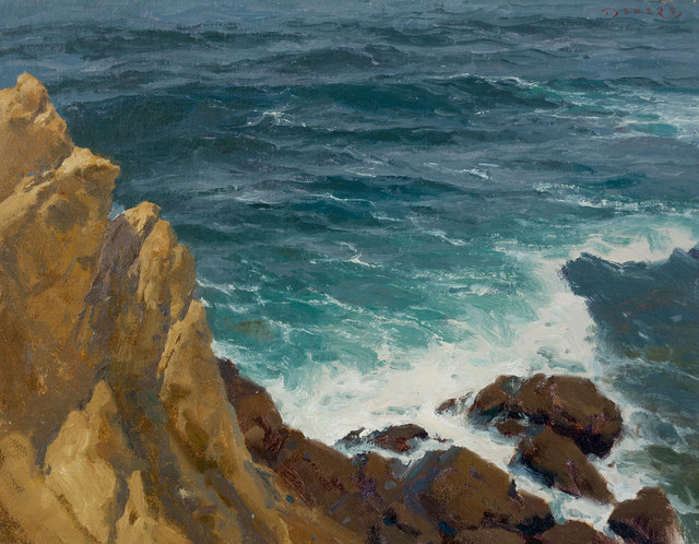 Donald W. Demers, 'Far Above the Surf, Laguna Beach, California', 21st Century, Vose Galleries