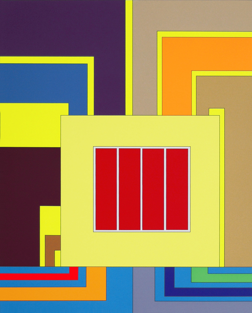 Peter Halley, 'Panic Room', 2003, Print, Silkscreen on paper, Center for Maine Contemporary Art (CMCA) Benefit Auction