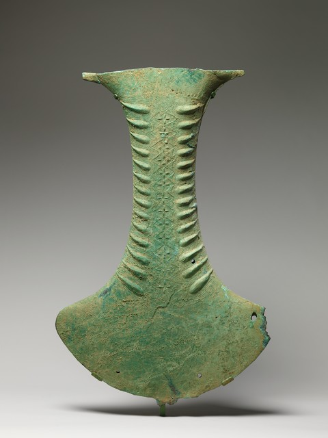 Unknown Indonesian, 'Ceremonial Object in the Shape of an Ax', ca. 100 B.C.–A.D. 300, The Metropolitan Museum of Art