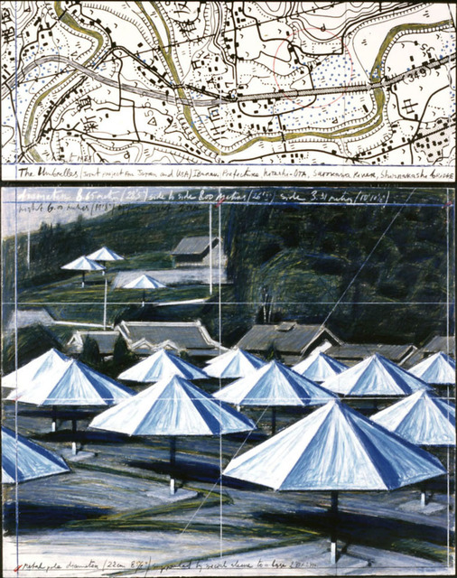 Christo, 'Umbrellas (joint project for japan and USA) ', 1988, Art Front Gallery
