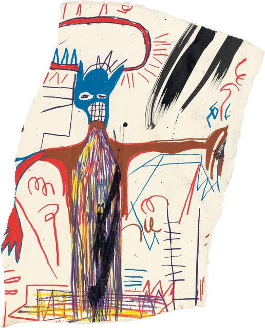 Jean-Michel Basquiat, 'Untitled (Figure with Blue Head)', 1983, Phillips
