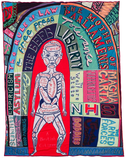 Grayson Perry, 'Comfort Blanket', 2014, Candida Stevens Gallery