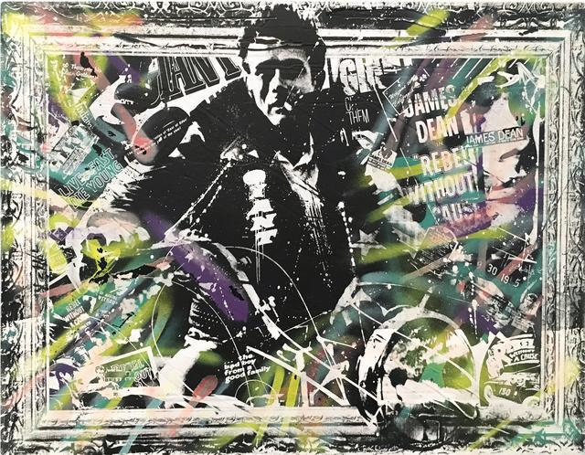 , 'James Dean,' 2016, The McLoughlin Gallery