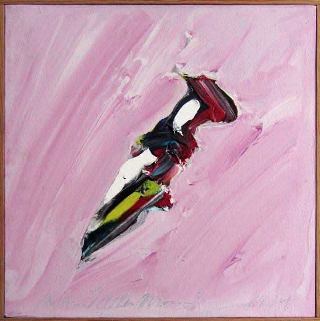 Richard Allen Morris, 'Letter Opener', 1974, Painting, Acrylic on canvas, Riva di Morcote Fine Arts