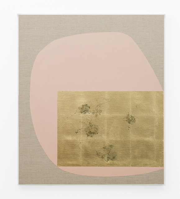 , 'Hair orchid sweat print, dust pink form,' 2018, SMAC