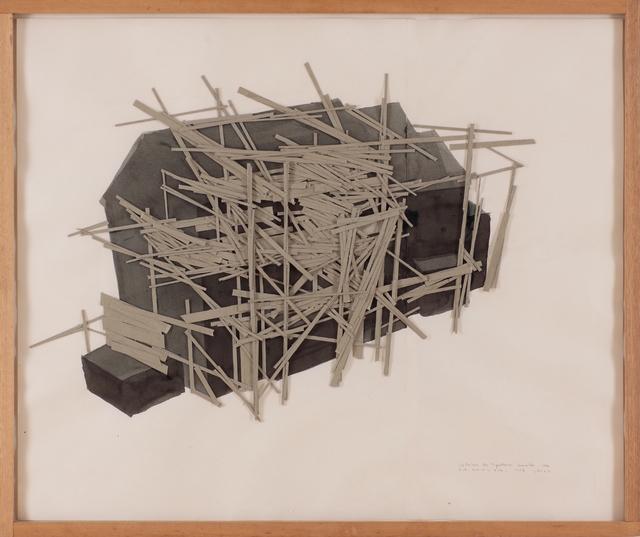 , 'La Maison des Squatters, Grenoble Plan B-2,' 1987, Misa Shin Gallery
