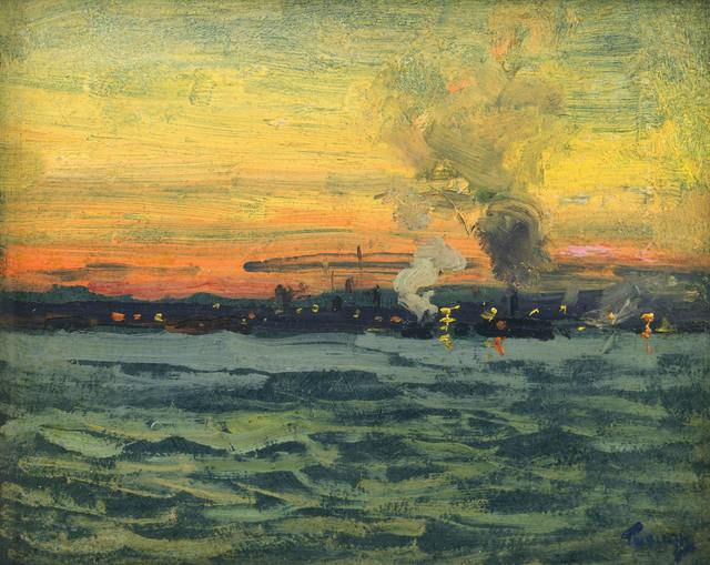 , 'Looking Toward Jersey City,' , Avery Galleries