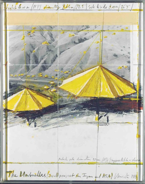 , 'The Umbrellas (Joint Project for Japan and USA),' 1989, Stern Pissarro