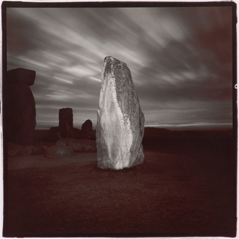 Richard Misrach, 'Stonehenge #4', 1976, Photography, Vintage split-tone print, Robert Mann Gallery