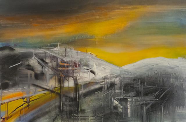 , 'Gold Digging,' 2016, Galerie Sandhofer