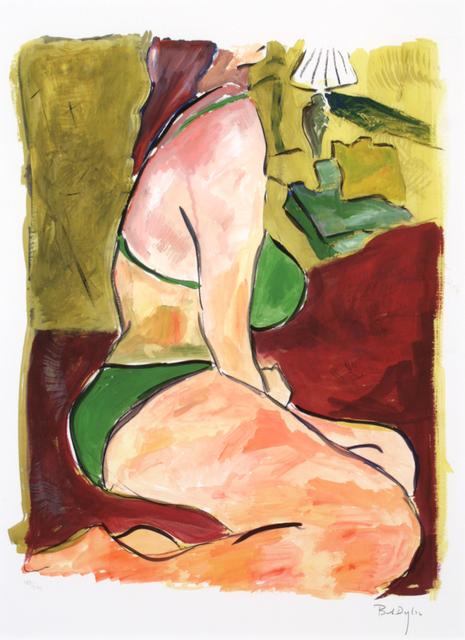 , 'Woman on Bed,' 2008, The Ross Art Group Inc.