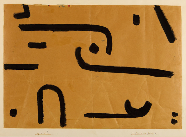 , 'suchend und findend,' 1937, Moeller Fine Art