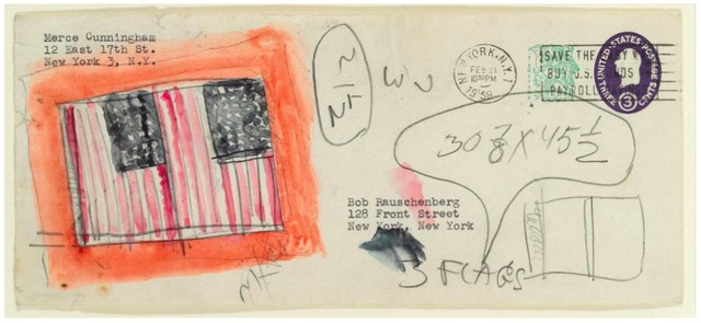 Jasper Johns, 'Untitled (Envelope)', Christie's