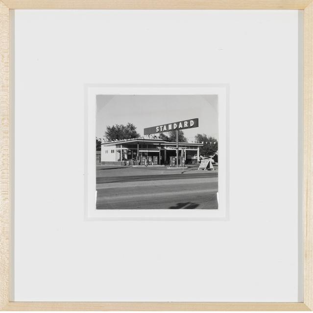 , 'Standard station, Amarillo, Texas,' 1962, Gagosian