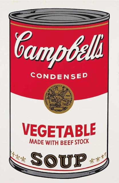 Andy Warhol, 'Campbells Soup Vegetable II.48', 1968, OSME Fine Art