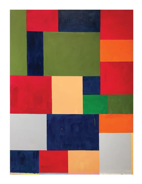 Thornton Willis, 'in the pocket', 2021, Painting, Acrylic on canvas, Elizabeth Harris Gallery