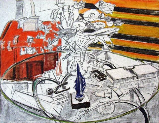 , 'Glastisch mit Blumen,' 1984, Beck & Eggeling
