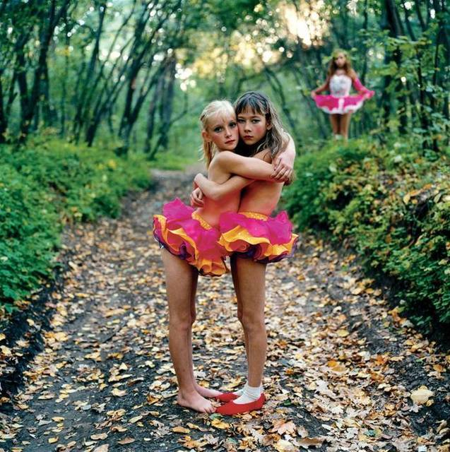 Michal Chelbin, 'Xenia, Janna & Alona in the woods, Russia', 2003, Joanna Bryant & Julian Page