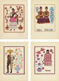 Trajes Regionales Mexicanos: Complete Portfolio (25 Prints)