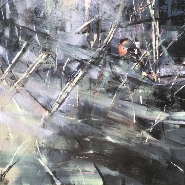 , 'Bullfinch,' 2018, Sarah Wiseman Gallery
