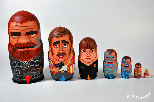 , 'Raising Arizona Nesting Dolls,' 2018, Spoke Art