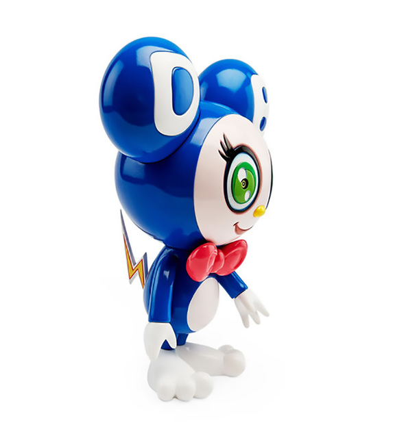 Takashi Murakami, 'Takashi Murakami Dark Blue DOB-kun Figure (Takashi Murakami MoMa) ', 2019, Sculpture, Painted cast resin vinyl figure, Lot 180