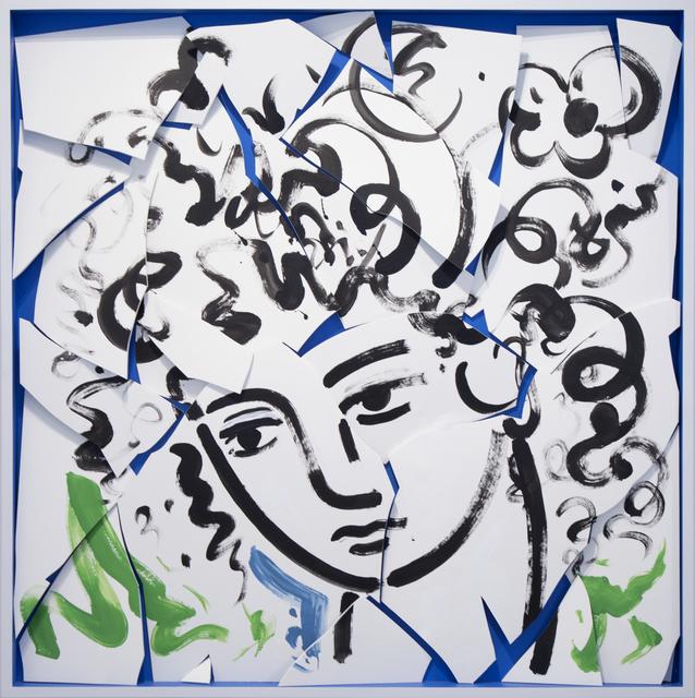 , 'Chorus Head B,' 2018, Cheryl Hazan Gallery
