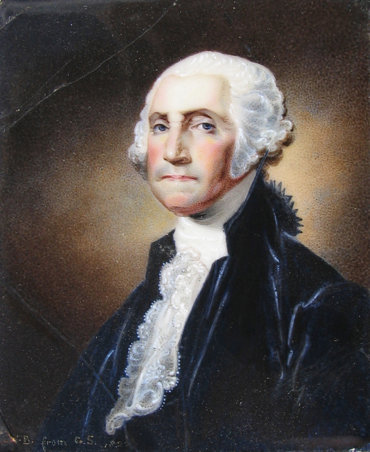 , 'George Washington,' 1822, Caldwell Gallery Hudson