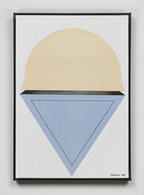Takesada Matsutani, 'Suggestion-White-18', 1973, Hauser & Wirth