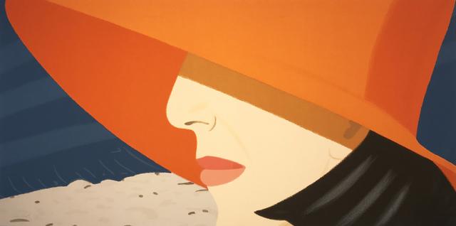 Alex Katz, 'Orange Hat', 1990, Hamilton-Selway Fine Art