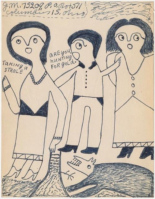 """, '""""Taking a strole"""",' n.d, Ricco/Maresca Gallery"""