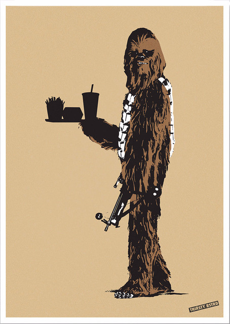 , 'Chewbacca Fast Food,' 2017, Reem Gallery