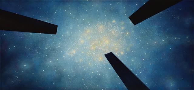 , 'Pyrotechnic Star ,' 2018, Mark Moore Fine Art