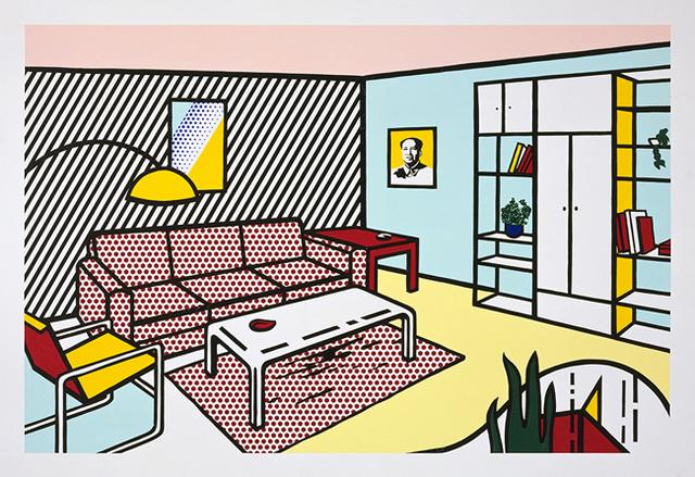 Roy Lichtenstein, 'Modern Room', 1991, Upsilon Gallery