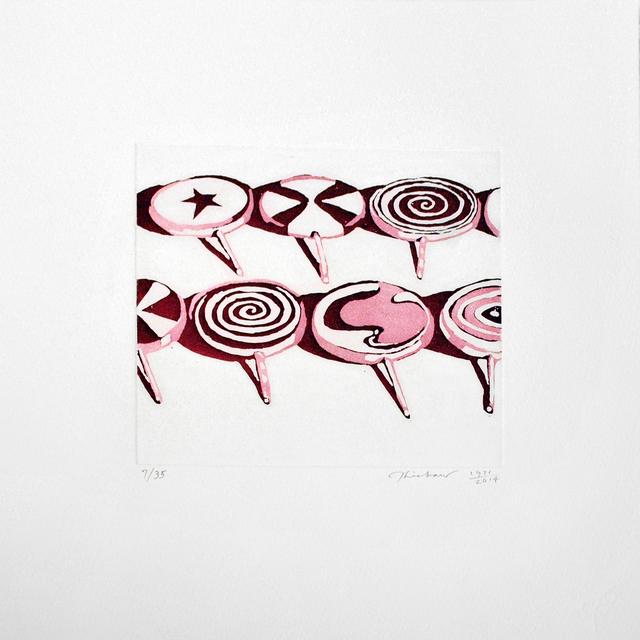 , 'Little Red Suckers,' 1971, Jonathan Novak Contemporary Art