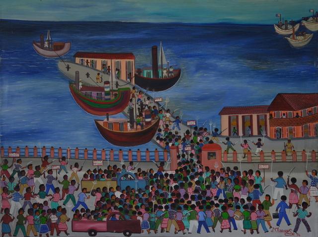 , 'Révolte sur les quais,' 1994, Le Centre d'Art d'Haïti
