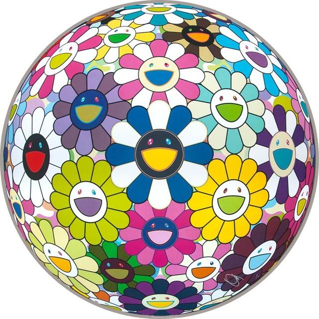 Takashi Murakami, 'Flowerball', 2014, EHC Fine Art Gallery Auction