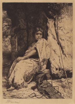 Thomas Moran, 'The Empty Cradle', 1880, National Gallery of Art, Washington, D.C.