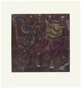 Elizabeth Murray, 'Bedtime', 1996, Universal Limited Art Editions
