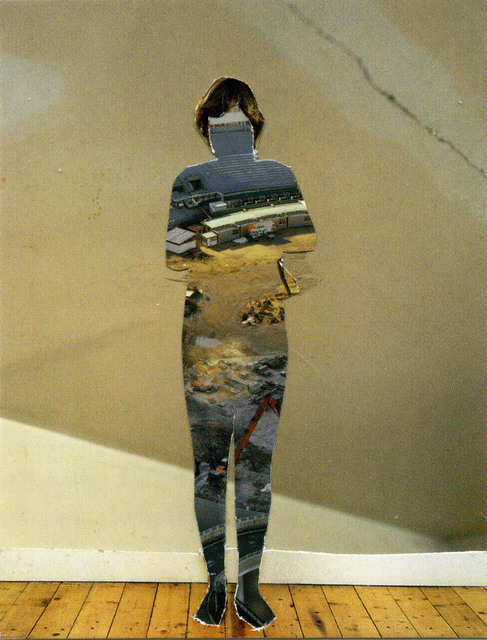 , 'Photomontage XXVII, (taken from pages 93, 112, 125),' 2009-2011, ROSEGALLERY